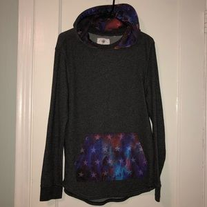 Galaxy stars On The Bays pullover